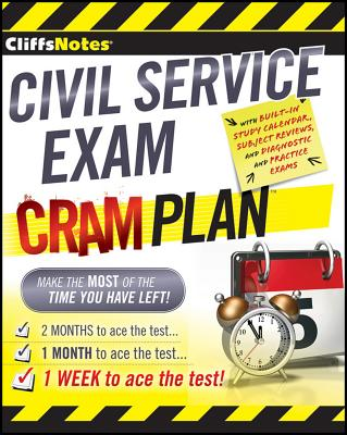 CliffsNotes Civil Service Exam Cram Plan By Northeast Editing, Inc. (COR)